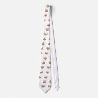 ¡Día feliz lindo del pi! Corbata Personalizada