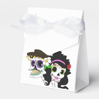 Día festivo del arte muerto caja para regalo de boda