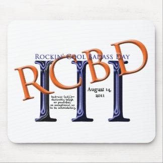 Día fresco Mousepad de Rockin Badass Tapetes De Raton