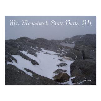 Día frío en Monadnock Tarjetas Postales