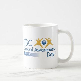 Día global de la conciencia del CAC Tazas De Café