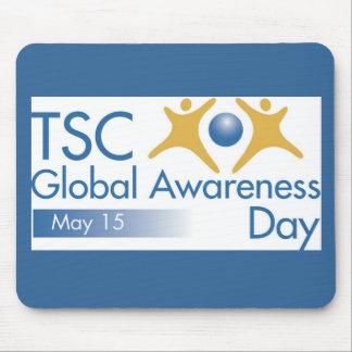 Día global Mousepad de la conciencia Tapete De Ratones