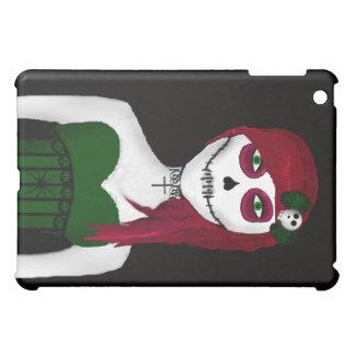 Día gótico del caso muerto del iPad del chica