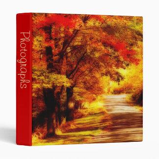 """Día hermoso 1"""" del otoño álbum de foto"""