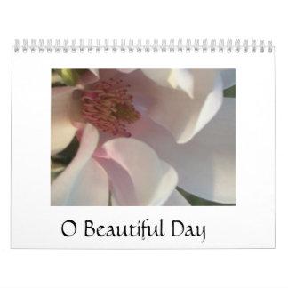 Día hermoso de O Calendarios