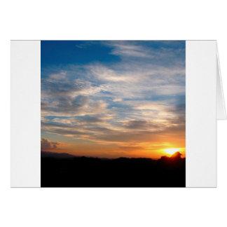 Día hermoso Jarenina Eslovenia del cielo Tarjeta De Felicitación