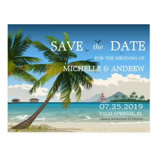 Día hermoso/reserva tropical de la playa de la isl tarjetas postales