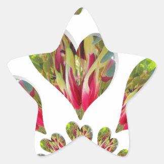 Día humanitario de Hakuna Matata el mundo necesita Pegatinas Forma De Estrellaes Personalizadas