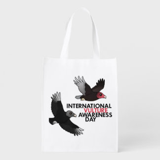 Día internacional de la conciencia del buitre bolsas de la compra