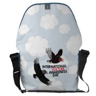 Día internacional de la conciencia del buitre bolsas de mensajeria