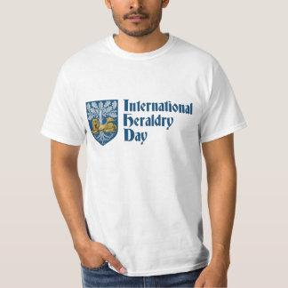 Día internacional de la heráldica playeras