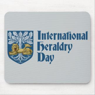 Día internacional de la heráldica alfombrilla de ratón
