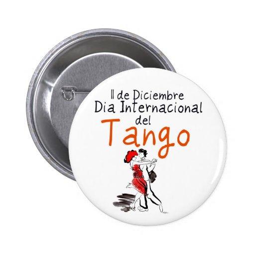 Dia Internacional del Tango Pin