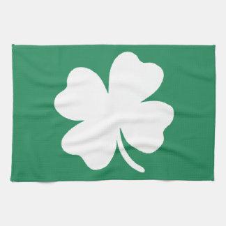 Día Irlanda de Patricks del santo del trébol Toalla