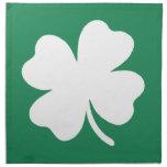 Día Irlanda de Patricks del santo del trébol Servilleta