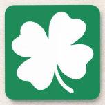 Día Irlanda del St Patricks del trébol Posavasos