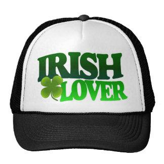 Día irlandés del St Patricks del gorra del amante