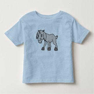 Día joven gris gritador de los derechos de los t-shirt