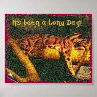 Día largo posters