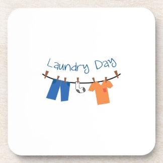 día laundry_Laundry Posavasos De Bebidas