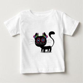 Día lindo del gato muerto playera de bebé