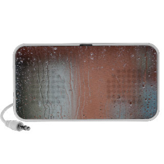 Día lluvioso sistema de altavoz