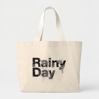 Día lluvioso bolsa de mano