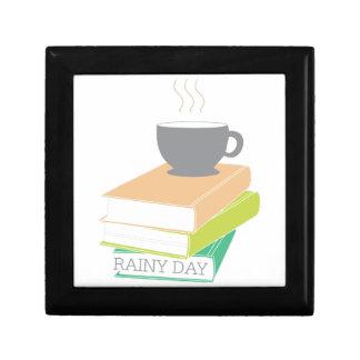 Día lluvioso cajas de regalo