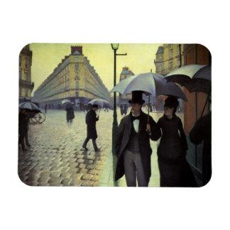 Día lluvioso de la calle de París de Gustave Iman De Vinilo