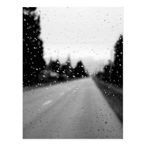 Día lluvioso en Alberta Postal