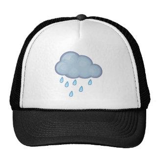 día lluvioso gorros