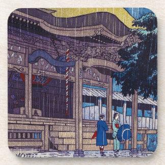 Día lluvioso oriental fresco de Shiro Kasamatsu de Posavasos
