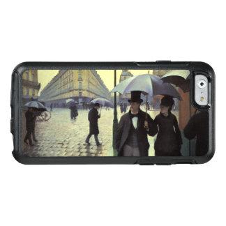Día lluvioso por Caillebotte, arte de la calle de Funda Otterbox Para iPhone 6/6s
