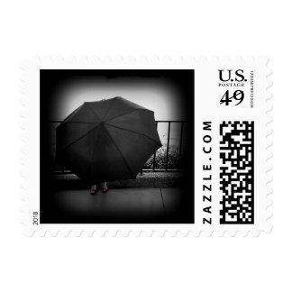 Día lluvioso sellos