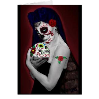 Dia los de Muertos Card