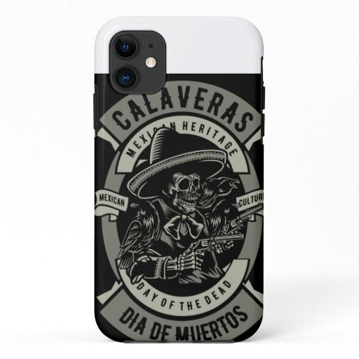 dia los muertos iPhone 11 case