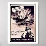 Día marítimo nacional posters