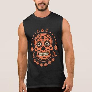 Día mexicano del cráneo muerto del azúcar camiseta sin mangas