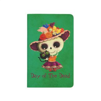 Día mexicano lindo del chica muerto