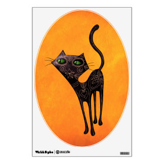Día mexicano negro del gato muerto vinilo