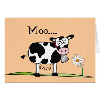 Día MOO-Feliz de Mudders Tarjeta De Felicitación