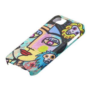 Día muerto - iPhone mexicano de la Aguamarina del  iPhone 5 Cobertura