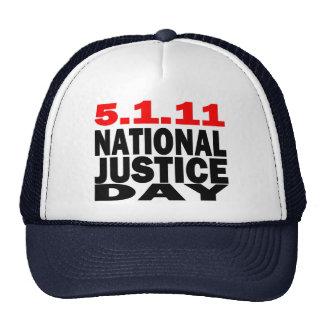 DÍA NACIONAL 5/1/2011 DE LA JUSTICIA GORROS BORDADOS