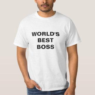 Día nacional de Boss de la MEJOR de BOSS del MUNDO Remera