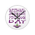 Día nacional de la ciencia ficción relojes