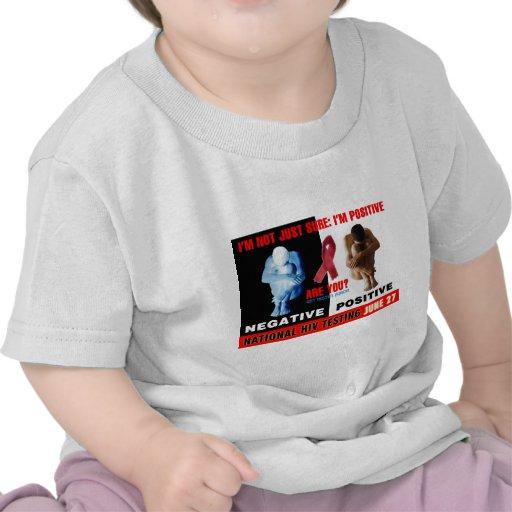 Día nacional de la prueba del VIH Camiseta