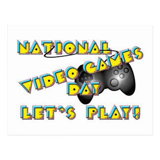 Día nacional de los videojuegos postales