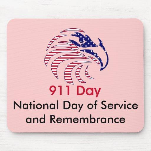 Día nacional de servicio y de conmemoración mousepad