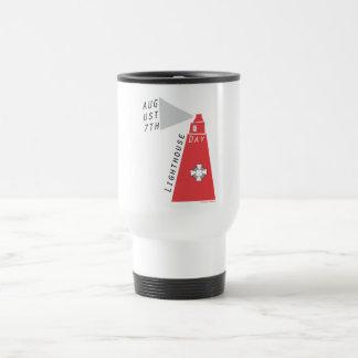 Día nacional del faro tazas de café