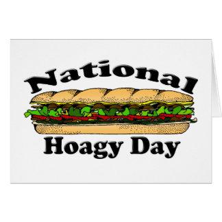 Día nacional del Hoagie Tarjeta De Felicitación